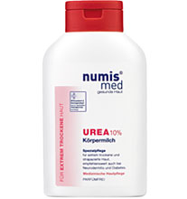 ნუმის მედი ურეა 10% ტანის რძე / numis® med UREA body milk 10% Urea