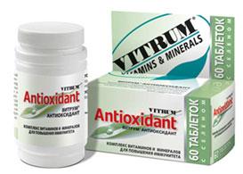 ვიტრუმი ანტიოქსიდანტი / VITRUM ANTIOXIDANT