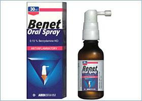 ბენეტი ორალური სპრეი / Benet Oral Spray
