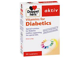 დოპელჰერც აქტივი ვიტამინები დიაბეტით დაავადებულთათვის / Doppelherz Activ