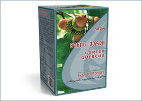 მუხის ქერქი / Cortex Quercus